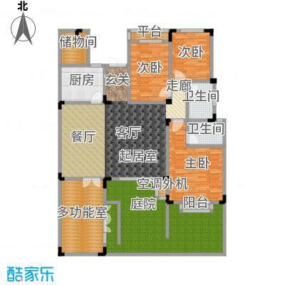 万润一品苑144.00㎡四室两厅两卫,建筑面积约144㎡户型4室2厅2卫