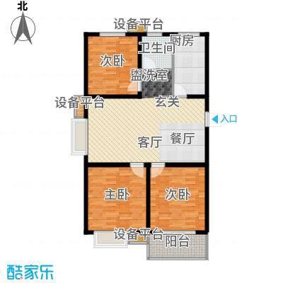 仕方国际110.95㎡仕方国际9#楼D户型3室2厅1卫1厨110.95㎡户型3室2厅1卫