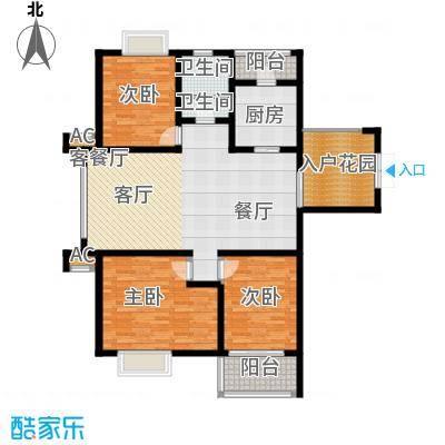 上城户型3室1厅2卫1厨
