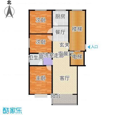 阳光嘉苑户型3室1厅1卫1厨