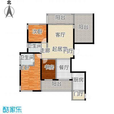 海港城133.55㎡11号楼盘户型4室2厅2卫