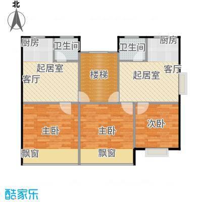 黄海齐鲁花园户型3室2卫
