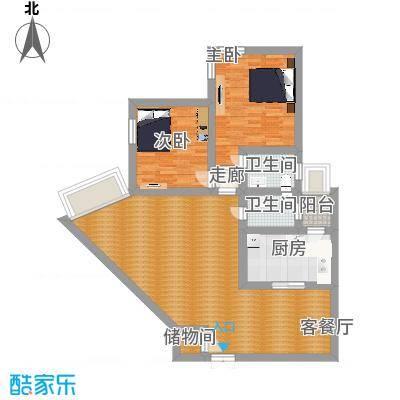 中福公寓户型图