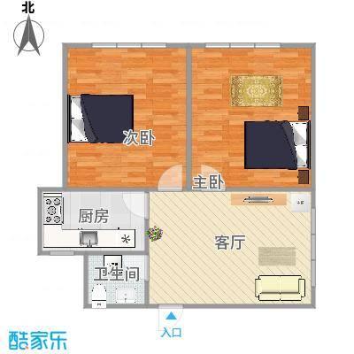 普乐门公寓户型图