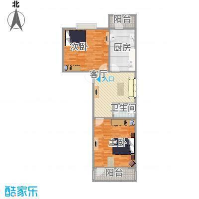聚贤街宿舍户型图