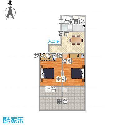 航华一村  上海市闵行区航华一村194号101室户型图