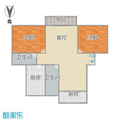 华高庭园户型图