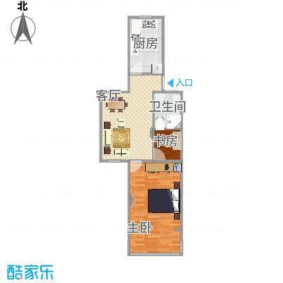 虹城公寓   上海长宁区仙霞路470弄8号602室户型图