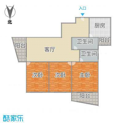 国际广场公寓户型图