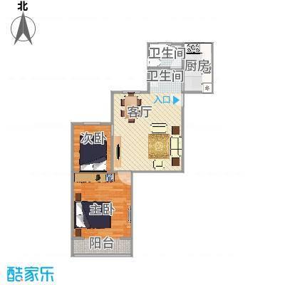 大华三村户型图