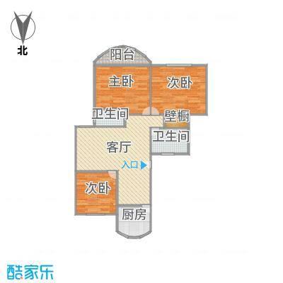 东方明珠大宁公寓户型图