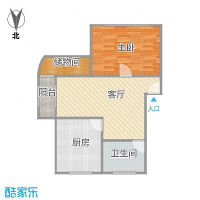 杉林新月家园户型图