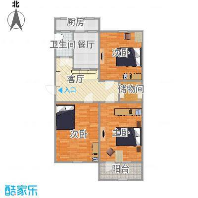 建设路民政局宿舍户型图