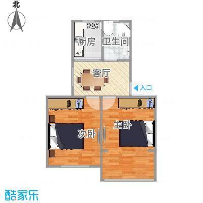 莘松七村  闵行区莘松七村23号户型图