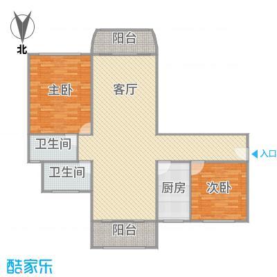 上海康城三期户型图