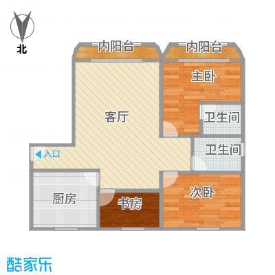 虹口现代公寓户型图