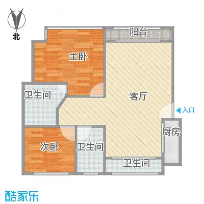 叠翠苑户型图