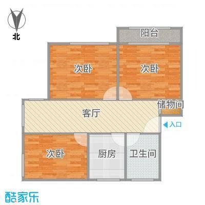 香山新村西北街坊户型图