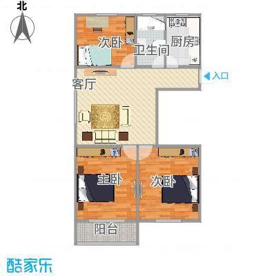 罗南二村户型图