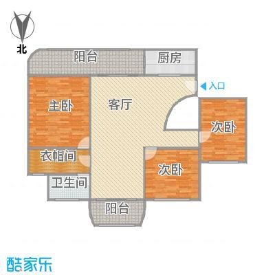 上海康城一期户型图