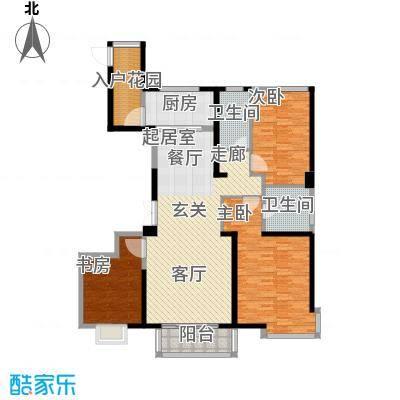 华润中心凯旋门户型3室2卫1厨
