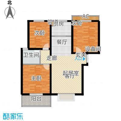 香格里拉花园3室2厅1卫