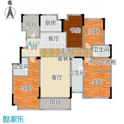 佳兆业玖珑山170.00㎡7、8、9号楼擎山170可变户型4室2厅3卫