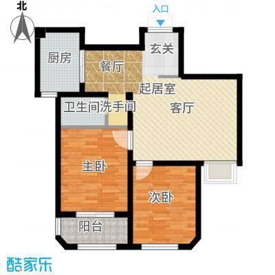 钱塘梧桐燕庐88.00㎡C户型10室