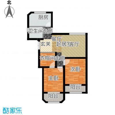 钱塘梧桐燕庐88.00㎡B户型10室