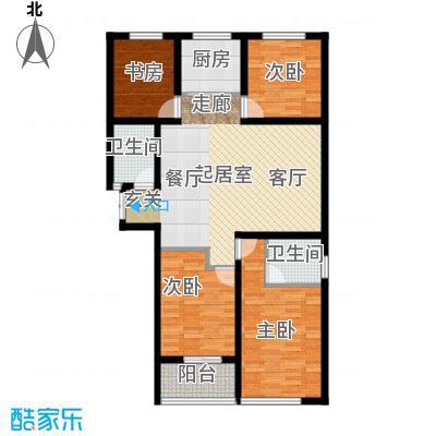 衡水时代广场C1户型4室2厅2卫