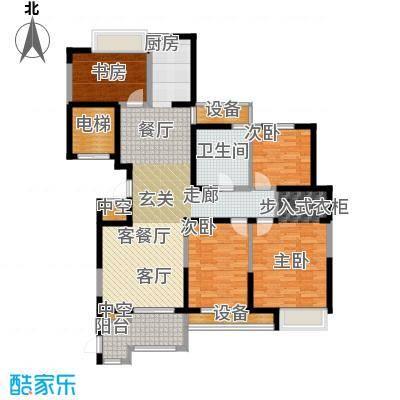 百乐广场133.91㎡G4户型3室2厅1卫
