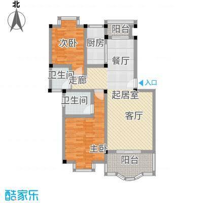 芳卉园(四期)89.95㎡房型: 二房; 面积段: 89.95 -96.12 平方米;户型