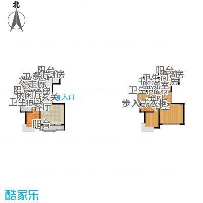新华联广场-T户型6室4卫1厨