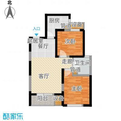 盘锦苏宁广场89.00㎡2室2厅1卫