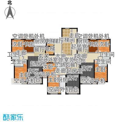 丽景福苑8号楼2单元户型