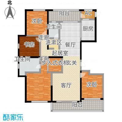 佳木公园198193.08㎡佳木户型单A2A3C9C10栋0303-03户型4室2厅2卫