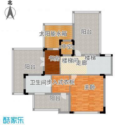 招商观园VA1户型三层平面图户型1室1厅1卫