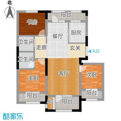 保利・春天里118.00㎡118平米户型3室2厅2卫