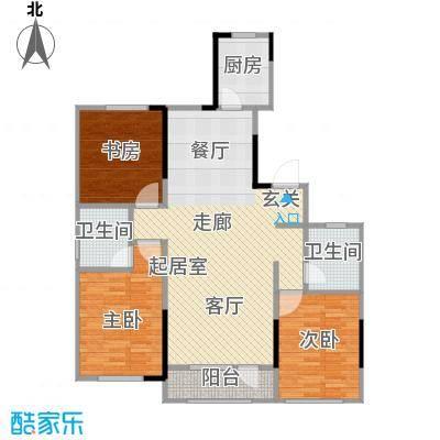 海泉湾・霞光府115.23㎡户型3室2厅2卫