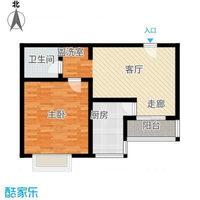 凤凰城 梧桐苑62.90㎡2室1厅1卫