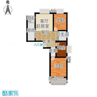 西钦帝景文院112.00㎡2室2厅1卫