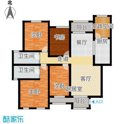 长九中心公园9号155.00㎡A-4户型10室