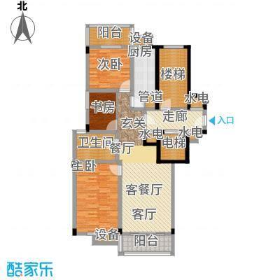 国大国际花园118.50㎡单身公寓约118.5户型