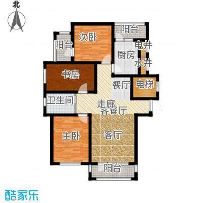 新发翡翠花溪户型3室1厅1卫1厨