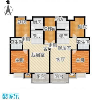 锦绣尚海湾户型2室2卫2厨