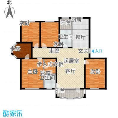 昌宇星河湾168.38㎡P户型4室2厅2卫
