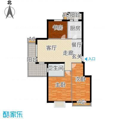 海正香醍湾122.00㎡3室2厅1卫