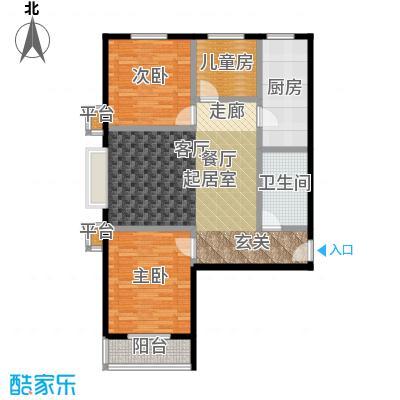 御龙苑111.11㎡御龙苑3号楼1户型3室2厅1卫1厨 111.11平米户型3室2厅1卫