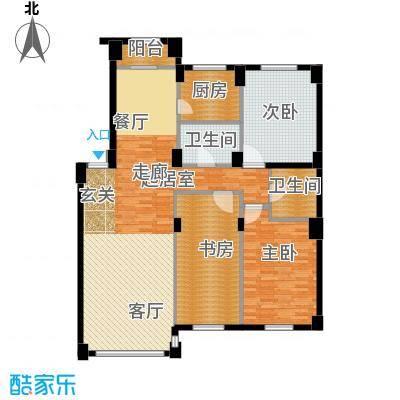 清河湾134.90㎡3室2厅1卫