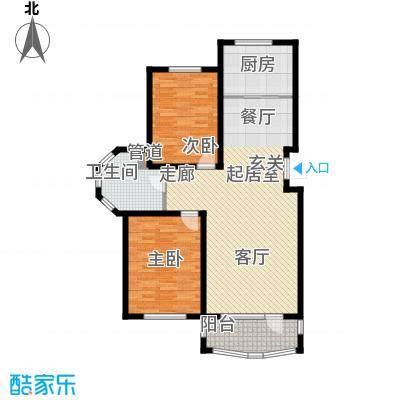 昌宇星河湾101.48㎡K户型2室2厅1卫